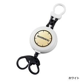 シマノ フックリールCR PI-041R ホワイト