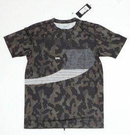【お買い物マラソンエントリー全品10倍】オークリー ラッシュ BIG O Tシャツ 9.0 00Gブラックプリント M