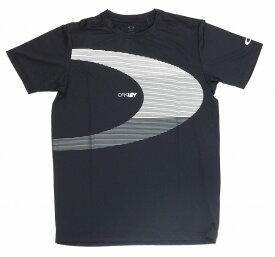 【お買い物マラソンエントリー全品10倍】オークリー ラッシュ BIG O Tシャツ 9.0 02Eブラックアウト M