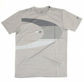 【お買い物マラソンエントリー全品10倍】オークリー ラッシュ BIG O Tシャツ 9.0 22K(Light Heather Gray) S
