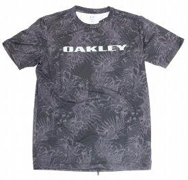【お買い物マラソンエントリー全品10倍】オークリー ラッシュ Tシャツ 9.0 00Gブラックプリント S