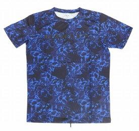 【お買い物マラソンエントリー全品10倍】オークリー ラッシュ Tシャツ 9.0 66Vブルーストームプリント M