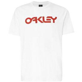 【お買い物マラソンエントリー全品10倍】オークリー MARK II TEE(Tシャツ) WHITE L