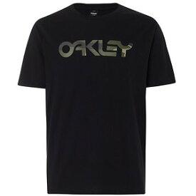 【お買い物マラソンエントリー全品10倍】オークリー MARK II TEE(Tシャツ) BLACKOUT L