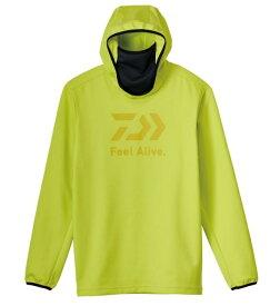 ダイワ ウェア DE-9221 ミドルゲームシャツフーディー サルファースプリング M