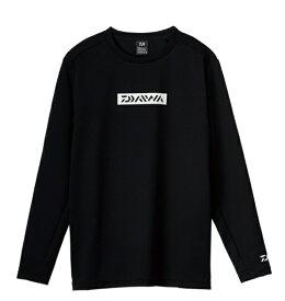 ダイワ ウェア DE-9321 ロングスリーブミドルシャツ ブラック 2XL