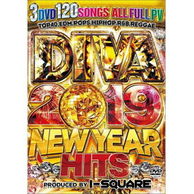 I-SQUARE / DIVA 2019 NEW YEAR HITS (3DVD)