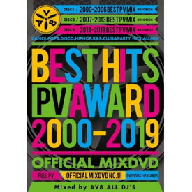 V.A / BEST HITS PV AWARD 2000-2019 -OFFICIAL MIXDVD- (3DVD)