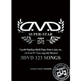 VDJ DOPE / SUPER STAR -OFFICIAL MIXDVD- (3DVD)