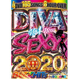 I-SQUARE / DIVA NO.1 NEW SEXY 2020 BUZZ HITS (4DVD)