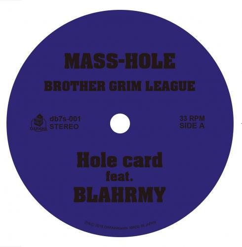 "MASS-HOLE - DJ GQ / BROTHER GRIM LEAGUE [7""inch]"