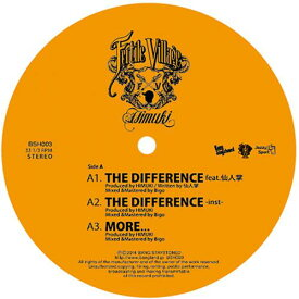 【CP対象】 HIMUKI / THE DIFFERENCE feat.仙人掌 - THE SHOW feat.JBM [12inch]