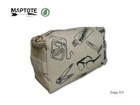 <ネコポス対応>【MAPTOTE】マップトート DOPP KIT ドップキット・トラベルポーチ