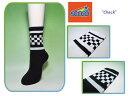 <ネコポス対応>【SOCCO】ソッコ CHECK Crew Socks チェック・クルーソックス