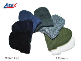 <ネコポス対応>【Artex knitting mills】アーテックスニッティングミルズ Watch Cap ワッチキャップ