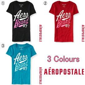 【処分価格】エアロポステールS/M/L/XL/XXLサイズ レディスTシャツ/Aeropostale