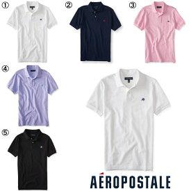 送料無料 エアロポステール ポロシャツ メンズ Aeropostale