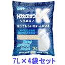 \最安値に挑戦!/猫砂 おから トフカスサンド K 7L×4袋 トフカスK 7リットル 4個 おからの猫砂 まとめ買い ねこ砂 …