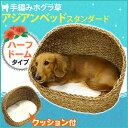 \売り尽くし!!/猫 ベッド ドギーマン アジアンベッド スタンダード ハーフドーム 犬用 在庫処分 アウトレット ひん…