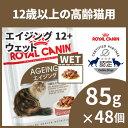 ロイヤルカナン 猫 FHN ウェット エイジング +12 85g×48個セット ≪正規品≫ 送料無料 12歳以上の高齢猫用 シニア猫 …