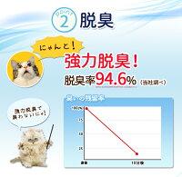 猫砂クリーン&フレッシュAg+KFAg-808L×2袋セット[ベントナイトネコトイレねこ固まるねこすな脱臭消臭]アイリスオーヤマキャットランド