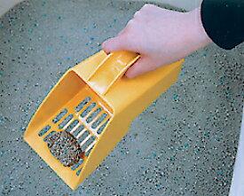 すくって運んでネコ砂スコップ [猫 ネコ スコップ 猫砂 ネコ砂 トイレ] キャットランド
