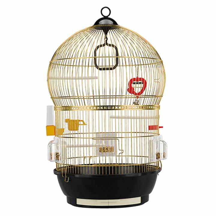送料無料 ペット 小動物 バリ 鳥 ケージ ファンタジーワールド 51018802ゴールド[TP] キャットランド【TC】 猫の日