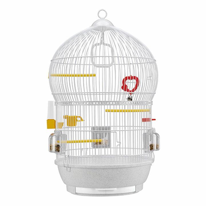 送料無料 ペット 小動物 バリ 鳥 ケージ ファンタジーワールド 51018811ホワイト[TP] キャットランド【TC】 猫の日
