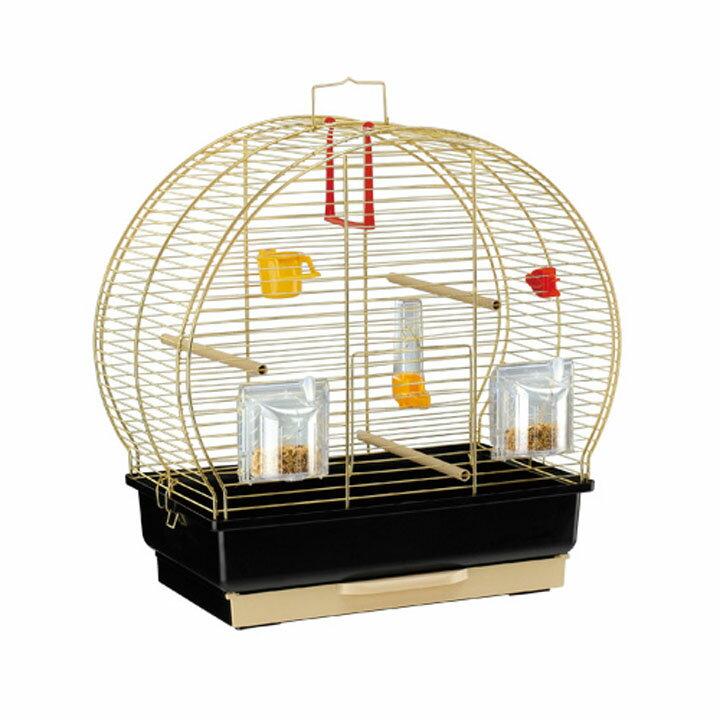 送料無料 ペット 小動物 ルナ2 鳥 ケージ ファンタジーワールド 52005502ゴールド[TP] キャットランド【TC】 猫の日