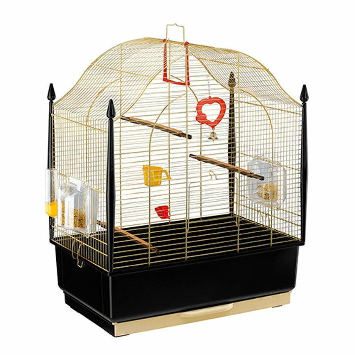 送料無料 ペット 小動物 ウ゛ィラ 鳥 ケージ ファンタジーワールド 52018802ゴールド[TP] キャットランド【TC】 猫の日