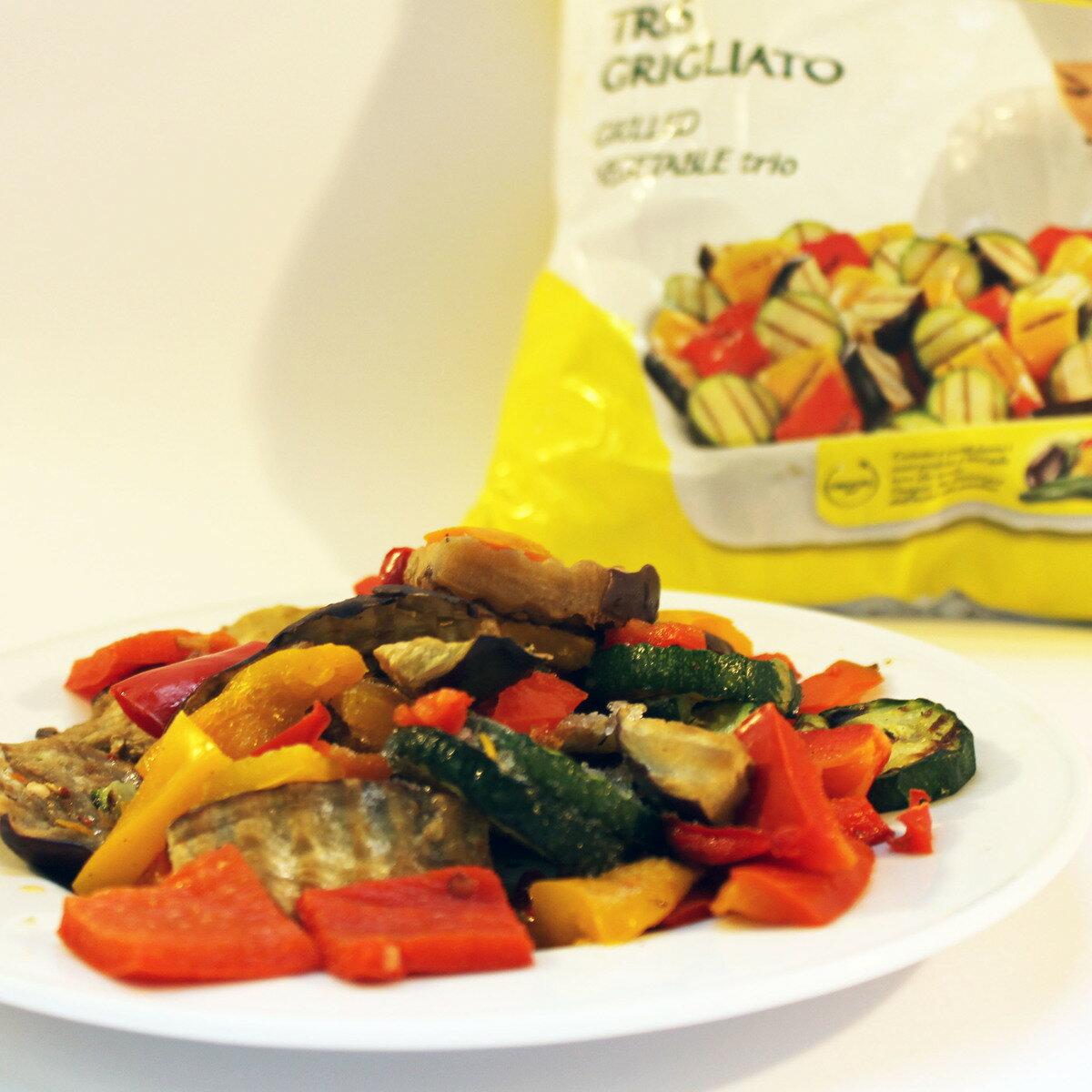 冷凍/グリル野菜/ミックス/なす/ズッキーニ/赤ピーマン/黄ピーマン/1kg