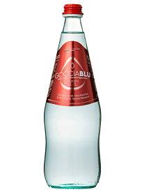 GOCCIA BLU ゴッチャブルー/スパークリング/水/ミネラルウォーター/炭酸/750ml×12本/瓶