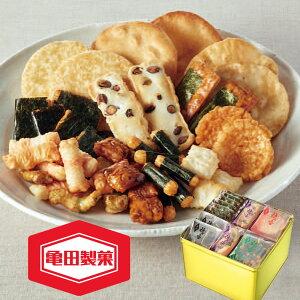 亀田 ゴールド缶 10081 ギフト お菓子 詰め合わせ スイーツ 贈答用 送料無料