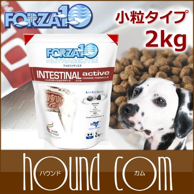 犬 FORZA10 インテスティナルアクティブ 2kg(フォルツァディエチ)療法食 ドッグフード フォルツァ10 ドライ フォルザ【ペットフード ドックフード フード ドライフード フード ペット用品 ご飯】【a0342】