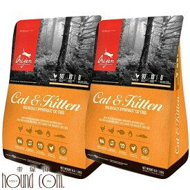 Orijenオリジン キャット&キティ キャットフード 1.8kg×2袋 オリジンまとめ買いおまけ付き プレミアムフードならオリジン