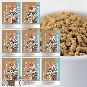 【送料無料&おまけ付き】ホリスティッククッキング フィッシュ(天然旬の魚) 8kg (1kg×8袋) 高齢犬 シニア ノンオイルコーティング 食いつき抜群 国産 無添加 老犬ドッグフード シ