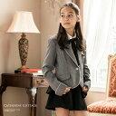 スーツ 女の子 女子高生 パンツ ガールズぺプラムパンツスーツ5点セット卒業式 入学式 [ジャケット,パンツ,ブラウス,…