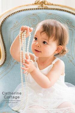 ベビードレスペチコート肩紐付きペチコートスリップパニエ「ペチコートだけでもドレスのようなかわいさです!!一枚あるととっても便利♪」子供ドレス、ベビードレス、子供服用