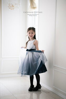 キッズドレスエルサ風ドレス青いドレス