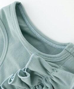 タンクトップの袖ぐり