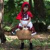 빨강않고 세균의 에이프런 드레스 아이 드레스 발표회 원피스 할로윈 가장 동화 키즈 어린이 여자 아이빨강않고 세균 코스튬