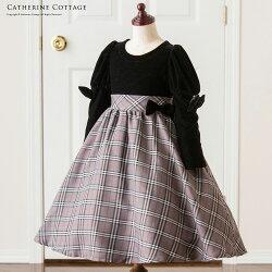 子供ドレス子供服ワンピース黒ブラック
