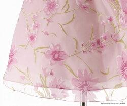 女の子花柄ドレス