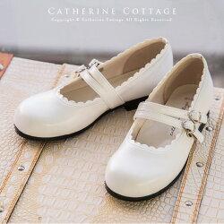 子供靴2本ベルト子供フォーマルシューズ[やや幅広]こども子どもキッズフォーマル【クラロリ,甘ロリ,ロリィタ】