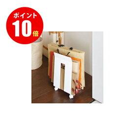 【3301】 ダンボール&紙袋ストッカー フレーム ホワイト CORRUGATED CARDBOARD BOX&PAPER BAG STOCKER frame 山崎実業 山崎実業