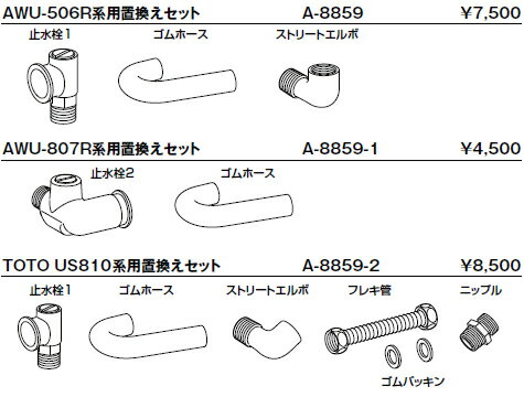 INAX/イナックス/LIXIL/リクシル トイレ 衛生陶器(組立)関連商品 【A-8859-1】 【RCP】
