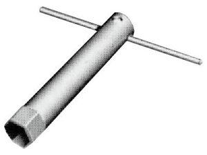 INAX[イナックス]・LIXIL[リクシル] 締付工具 【KG-5】 LF-5PA用T形レンチ 対辺17 特定施設向け機器【木ねじ・AYボルト・専用工具】