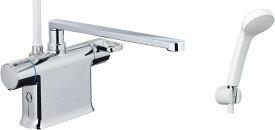 【あす楽・在庫あり】INAX・LIXIL 浴室水栓【BF-WM646TSG(300)】 シャワーバス水栓 デッキタイプ サーモスタット付シャワーバス水栓+エコフルスプレーシャワー [イナックス・リクシル]