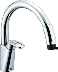 INAX・LIXIL キッチン水栓 【SF-HM451SYXU】 吐水口引出式水栓 ワンホールタイプ ホース引出し・シャワー付タイプ グースネック(エコハンドル) イナックス・リクシル