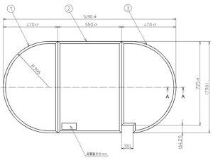 TOTO ふろふた 【PCA1510N】 軽量組み合わせ式 (3枚)